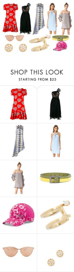 """""""Fashionable Right"""" by donna-wang1 ❤ liked on Polyvore featuring Alexander McQueen, RED Valentino, Marni, rag & bone, MLM, Issey Miyake, Under Armour, ZoÃ« Chicco, Linda Farrow and Gorjana"""