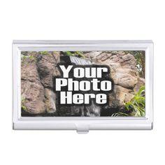 Custom Photo Keepsake Business Card Holder