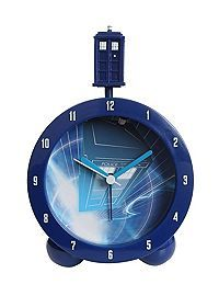 HOTTOPIC.COM - Doctor Who TARDIS Topper Alarm Clock