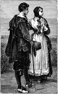 puritan religion | Puritan Costumes | ClipArt ETC
