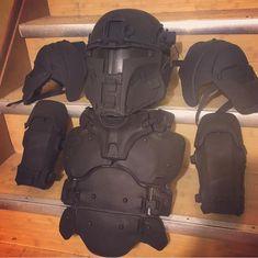 shot show 2016 mandalorian armor - Google Search