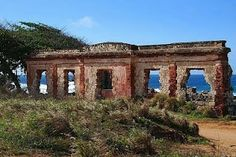 Ruinas Faro de Aguadilla, Puerto Rico... this beautiful spot behind the golf course leads to Wilderness, my favorite break in Puerto Rico! I want to go back!!