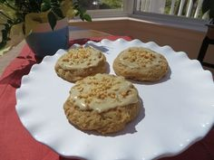 Maple and peanut butter cookie