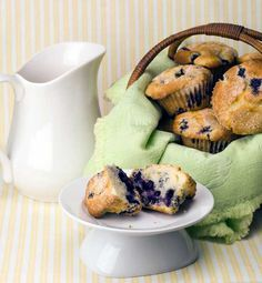 Gluten Free Lemon Blueberry Muffins Recipe - I just made these, and they are easy to make and delicious! You do need to have gluten free flour.