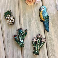 """111 Likes, 1 Comments - Запоминающиеся Украшения (@nabokova_jewelry) on Instagram: """"Кактусы улетели к хозяйке в США, я заканчиваю очередные заказы , и жду лета раз уж весна мимо…"""""""