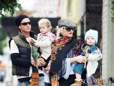 The Stefani-Rossdale family