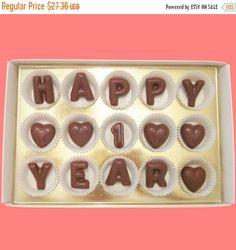 1st year chocolates