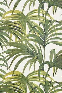I like the tropical fronds motif as an alternative decoration wise. I could do a few different panels along the walls of my living room. , with a banner above?
