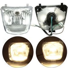 50cc 70cc 90cc 110cc Front Headlight Assembly For ATV QUAD SUNL COOLSTER TAOTAO. 50cc 70cc 90cc 110cc Front Headlight Assembly For Atv Quad Sunl Coolster Taotao    description:    100% Brand New And High Quality.  it Is Universal For Most Chinese 50cc 70cc 90cc 110cc Atvs  please Compare Your Iteam With The Picture Before Purchasing!    specification:    light Color: Yellow  weight:228g  size:approx.140*115*107mm(as The Picture Shown)  4 Pin Male Plug  volt:12v  power:35w    note:  1.we…