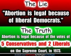 Abortion is legal because that is the rightful law of the land. The consequences of banning it kill more than legalization ever could.