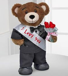 SOMEONE DO THIS FOR ME PLEASE! Step 1: Go to Build a Bear Step 2: Start to build your bear Step 3: record a voice recording asking her to prom Step 4: dress the bear up in a tux Step 5: put it in her locker at school with a note tellling her to press its paw to here the message And you have a date to prom(:
