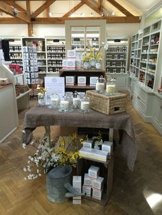 Wilkin and Sons Candle Displays