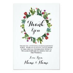 #Thank You Cards Cactus Wreath Fiesta Wedding - #engagement #party engagement partywedding showerwedding