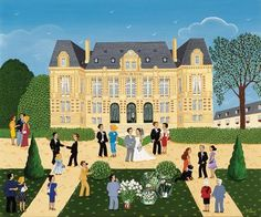 You can't put a price on LOVE. Oh... yes you can.  Check out the vast and beautiful collection of international Naive Art for Sale!