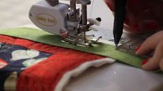 How to Machine Bind Your Quilts - Fat Quarter Shop  this will be the best tip on machine binding i feel u will ever need