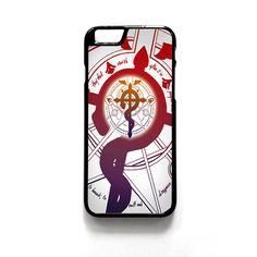 Alchemist Fullmetal Symbol For Iphone 4/4S Iphone 5/5S/5C Iphone 6/6S/6S Plus/6 Plus Phone case ZG