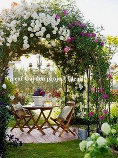 50 DIY Garden Layout Plans for Your Back Yard and Front Yard - The First-Hand Fashion News for Females Garden Types, Diy Garden, Garden Cottage, Balcony Garden, Shade Garden, Garden Crafts, Garden Projects, Backyard Cottage, Garden Art