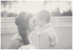 Me & my future step-son will have to have this picture. He's gonna be the cutest ring bearer. :)