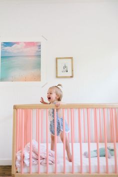 Em Scott's Vibrant Yet Minimal Nursery | theglitterguide.com