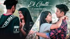 """Ha Ho Gayi Galti Mujhse Lyrics: This song named """"Ek Galti"""" is heart touching hindi song which is very popular. The song is sung by Shivai Vyas. Popular Song Lyrics, English Translation, Singing, Songs, Couple Photos, Couples, Couple Shots, Couple Photography, Couple"""