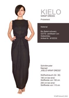 Named Schnittmuster Kielo Wrap Dress Named Sewing Pattern Kielo Wrap Dress Belted Shirt Dress, Tee Dress, Wrap Dress Diy, Wrap Dresses, Dress Name, Mode Hijab, Sewing Clothes, Dress Patterns, Sewing Patterns