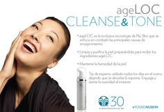 ageLOC Cleanse & Tone