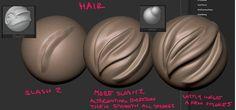 hair/fur in zbrush