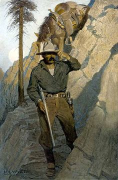 The Sheriff - N.C. Wyeth, 1912  From the National Museum of American Illustrators