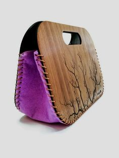 Gifts for bestfriend   Nature lover gift   Bridesmaids clutch   Wooden bag 60c9639849