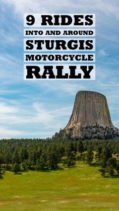 Rides Near Sturgis- Getting to Sturgis Motorcycle Rally is part of the fun. Check out 9 amazing rides near Sturgis! Sturgis Sd, Sturgis Motorcycle Rally, Bike Rally, Motorcycle Rallies, Motorcycle Travel, Motorcycle Rides, Sturgis Bike Week, Sturgis South Dakota, South Dakota Vacation