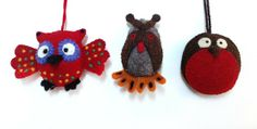 hutum The owl is designed to be hung in the kids room on the door, window from the ceiling. The owl is made of 100% handmade felt Also available Hanging birds in various sizes.