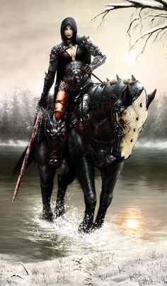 Death Dealer detail by *PepperWolf on deviantART