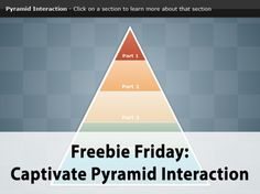 We've added a great pyramid interaction to our Free Library for any of you Captivate users out there! Check it out!