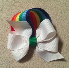 All About Irish Beer – St. Ribbon Hair Bows, Diy Hair Bows, Diy Bow, Diy St Patricks Day Bow, Bow Display, Making Hair Bows, Bow Making, Holiday Hair Bows, Diy Headband