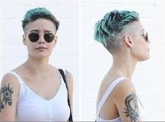 Image result for halsey short hair