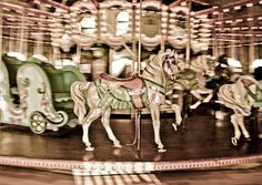I love carousels.  Some of my favorite childhood memories are when I would ride the carousels.