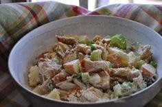 Karie's Favorite Recipes: Skinny Chicken Salad