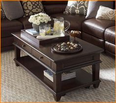 5 Ideas For A Do-It-Yourself Coffee Table, Let's Do It! #coffeetable #homedecor