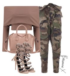 Untitled #3250 by breannamules on Polyvore featuring polyvore fashion style Boohoo Faith Connexion Givenchy Monika Chiang clothing