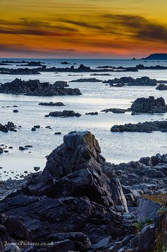 ✯ Le Mare Beach, Jersey, Channel Islands...occupied briefly during WWII...fiercely loyal to the Queen