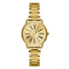 Γυναικείο ρολόι GUESS W1148L2 με κίτρινο καντράν 2d6d0f4969d