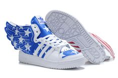Adidas Jeremy Scott Wings 2.0 USA Flags Shoes