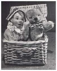 Teddy is waving goodbye ....... Andy Pandy was my favourite Watch With Mother