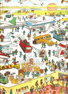 donde está wally Wheres Wally, Brain Games, Book