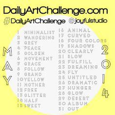 May art challenge