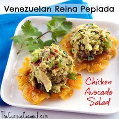 Paleo Reina Pepiada (Venezuelan chicken avocado salad)(Paleo/Whole30 with AIP option)