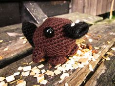 Amigurumi Platypus by the sun and the turtle, via Flickr
