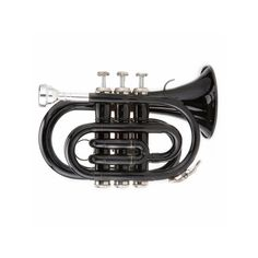 Enjoy the big sound of a full-size trumpet with the compact convenience of this Ravel pocket trumpet.