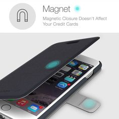 iPhone 6/6S Plus Wallet Case, Perfectly Fit, Protect Your Investment Now! #iphone6plus #apple http://www.amazon.com/Premium-Quality-Microfiber-Kickstand-Perfectly/dp/B00QVV7410/