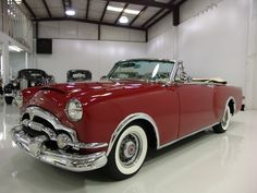 1 OF ONLY 750 MADE! 1953 PACKARD CARIBBEAN CONVERTIBLE, POWER TOP, 327 CI STRAIGHT 8/180 HP!